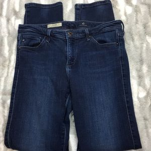 Adriano Goldschmied mid rise cigarette jeans 28